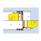 Plastic Guide component CDHR-M-BP and E-M-BP